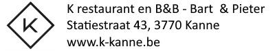 K Kanne – Restaurant – B&B